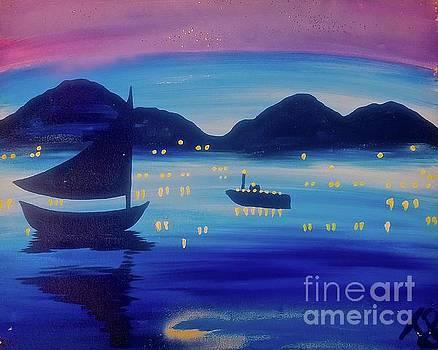 Light Sailing by Tony B Conscious