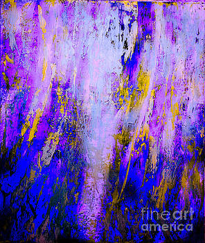 Light Shining Through My Window Of Lavender and Gold by Catalina Walker