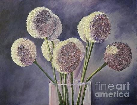 Light Struck Alliums by Jan Gibson