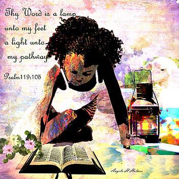 Light unto my path by Angela Holmes