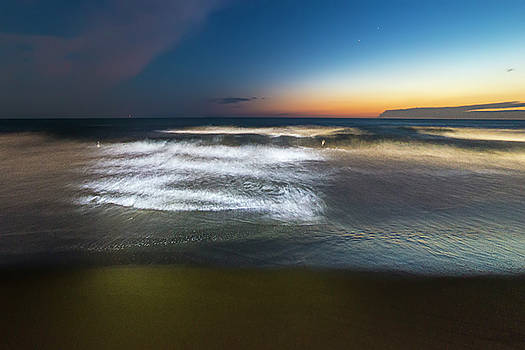 Light Waves At Sunset - Onde Di Luce Al Tramonto Ii by Enrico Pelos
