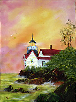 Lighthouse by Arno Clabaugh