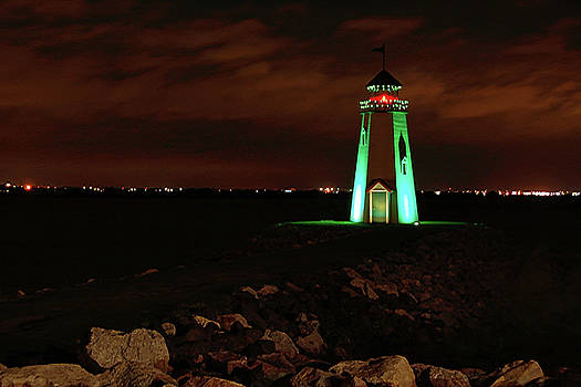 Lighthouse at East Wharf by Ben Prepelka