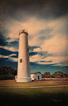 Lighthouse At Egmont by Marvin Spates