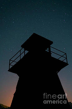 Edward Fielding - Lighthouse at Night Prince Edward Island