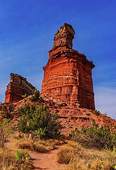 Lighthouse at Palo Duro Canyon by Stephen Anderson