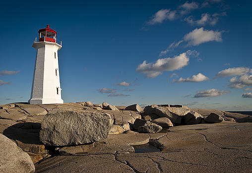 Lighthouse at Peggy's Cove by Nancy Killam