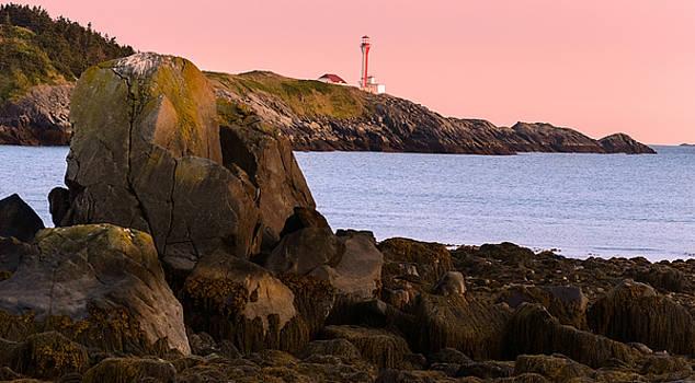 Garvin Hunter - Lighthouse at Sunset
