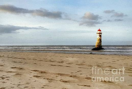 Abbie Shores - Lighthouse at Talacre