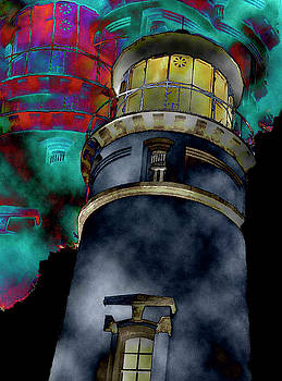 Lighthouse Castle by Penny OHalloran