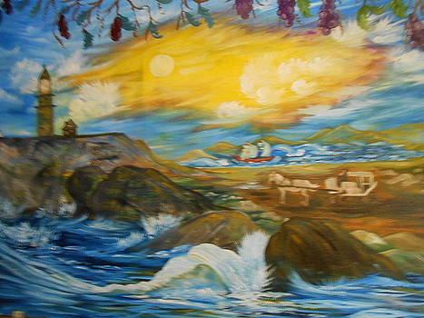 Lighthouse  by Darlene Custer