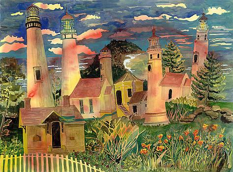Lighthouse Fantasy by Karen Merry