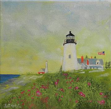 Lighthouse From Below by Scott W White