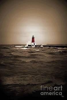 Ms Judi - Lighthouse Glow Sepia Spot color