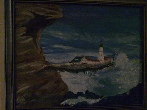 Lighthouse by Helen Vanterpool