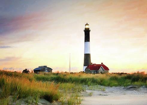 Lighthouse Impressions by Vicki Jauron
