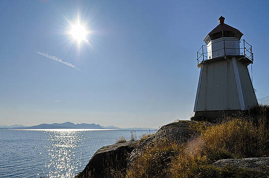 Lighthouse in northern Norway by Intensivelight