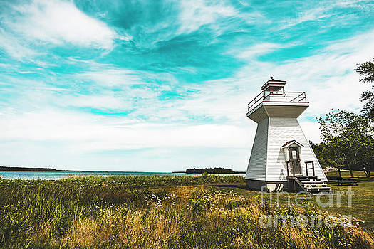 Lighthouse in Nova Scotia by Zawhaus Photography
