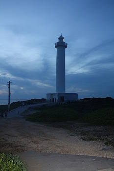 Lighthouse in Okinawa Japan by Rodney Dickey