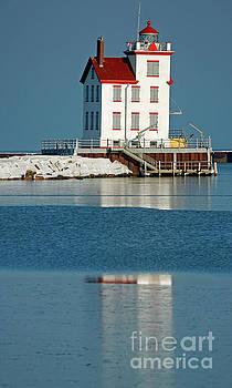 Lighthouse Lorain by Debbie Parker