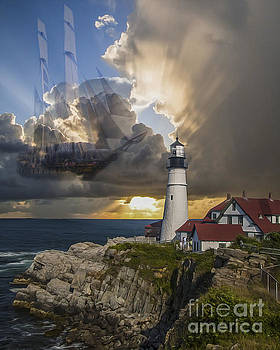 Kathryn Strick - Lighthouse Memory II 2015