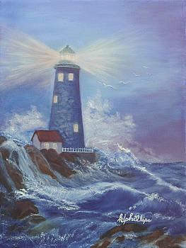 Lighthouse Number One by Karen Phillips