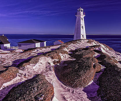 Lighthouse on the Rocks by Gord Follett