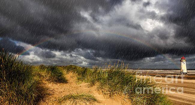 Adrian Evans - Lighthouse Rainbow