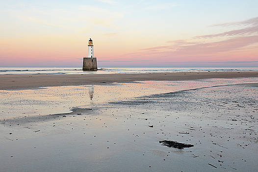 Lighthouse Sunset - Rattray Head by Grant Glendinning