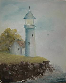 Lighthouse by Rhonda Myers