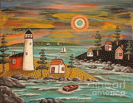 Lighthouse Sail by Karla Gerard