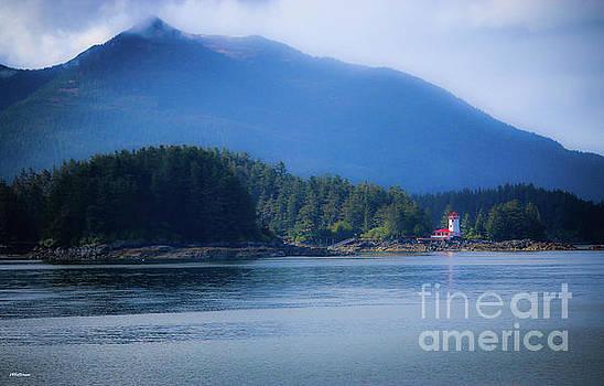 Lighthouse Sitka Alaska by Veronica Batterson