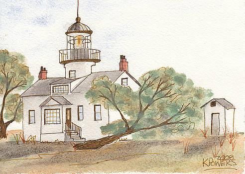 Ken Powers - Lighthouse Sketch