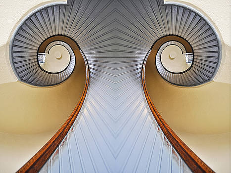 Lighthouse Staircase Mirror by Kyle Hanson