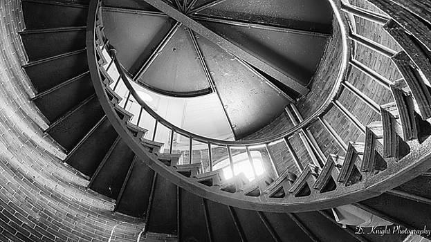 Lighthouse Stairs by Dillon Kalkhurst