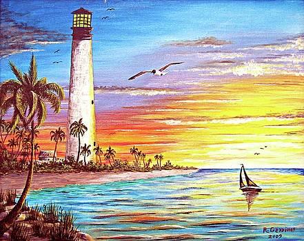 Lighthouse Sunrise by Riley Geddings