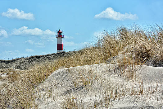 Lighthouse Sylt by Joachim G Pinkawa
