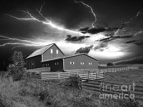 Lighting Strike  by Scott B Bennett