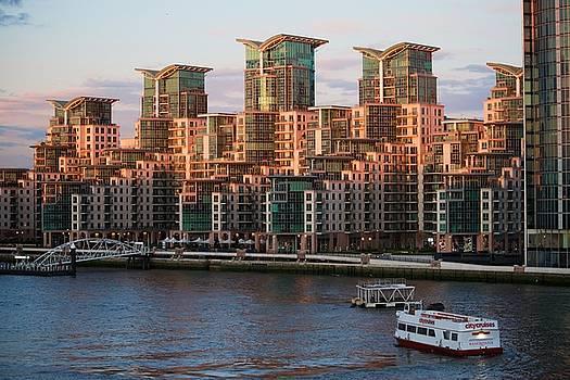 Lighting the Wharf by Eric Tressler