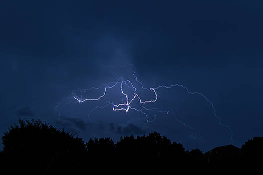 Lightning  by Allin Sorenson