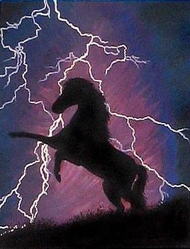 Lightning Horse by K Arikun D