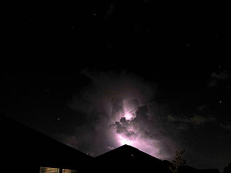 Lightning in the Cloud by Ron Enderland