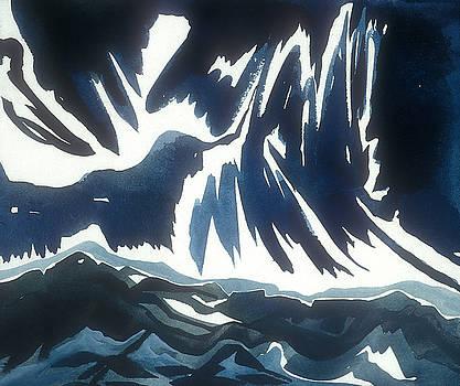 Lightning Mountain by Sandra Salo Deutchman
