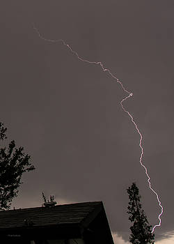 Lightning on a Sunday Morning by Mick Anderson