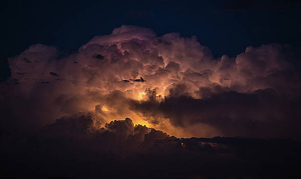 Lightning Over Simi Valley by Andrew Zuber