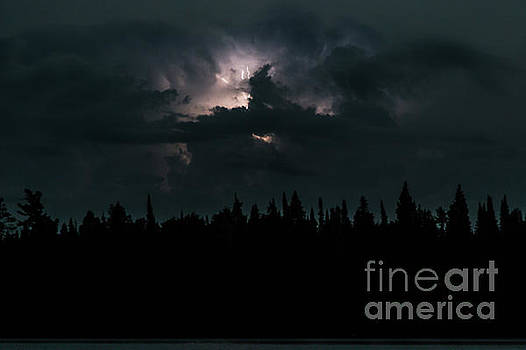 Lightning Storm by CJ Benson