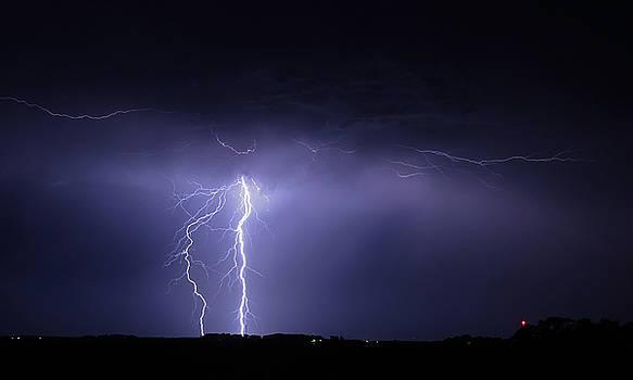 Lightning Strike 3 by Steve  Yezek