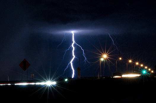Lightning Strike by Michael Wall