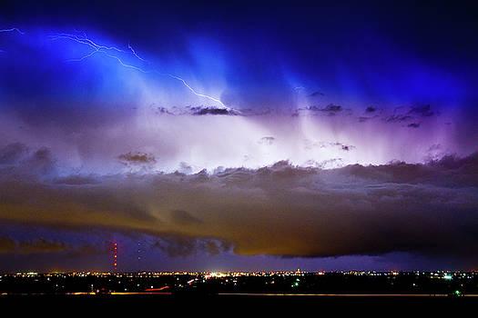 James BO Insogna - Lightning Thunder Head Cloud Burst Boulder County Colorado IM39