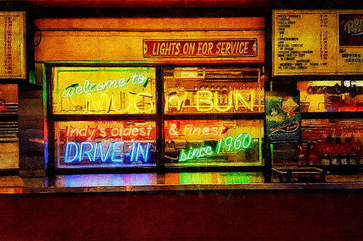 Lights On For Service by Sandy MacGowan
